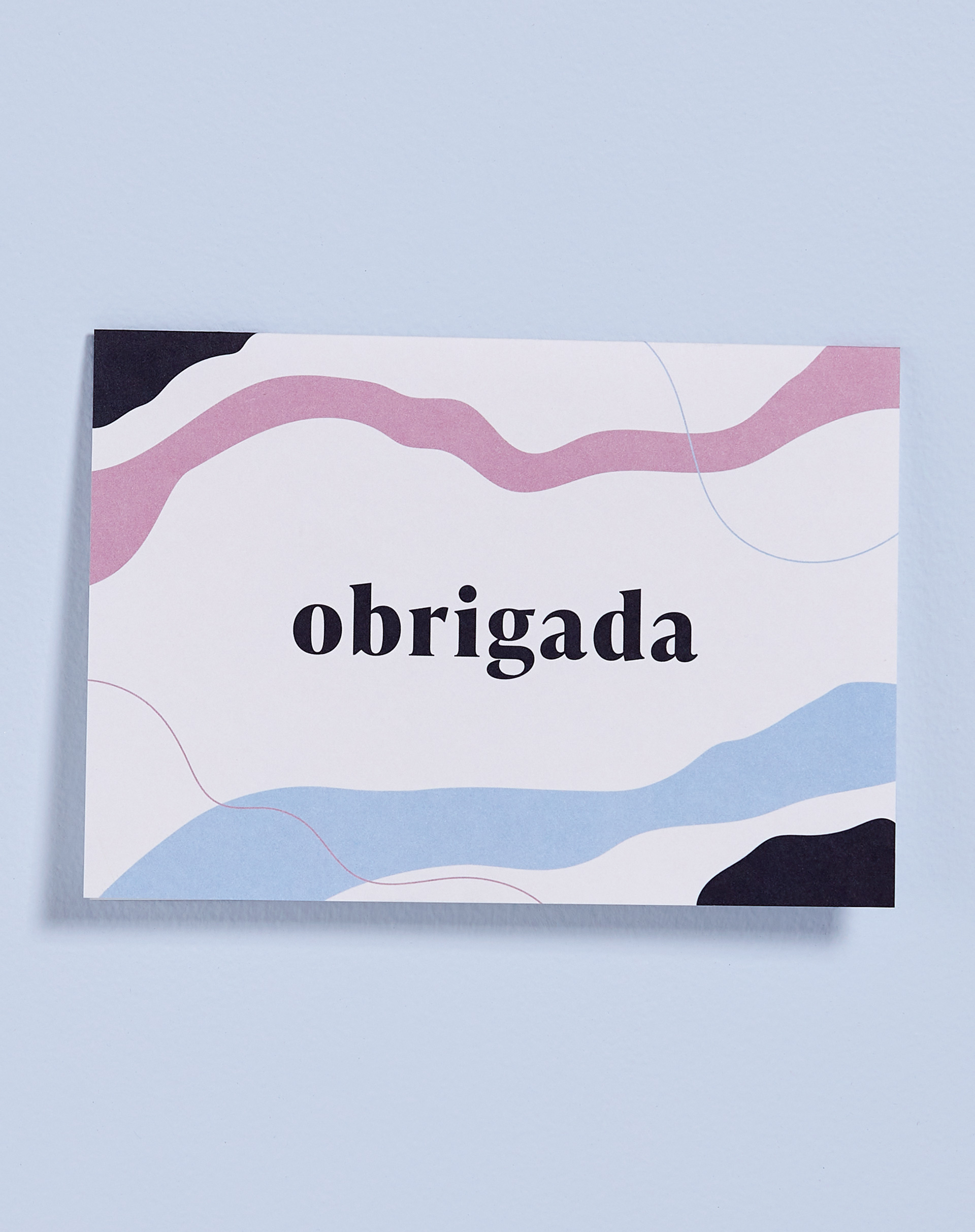 AMARO Feminino CARTÃO OBRIGADA, MULTI COLORIDO