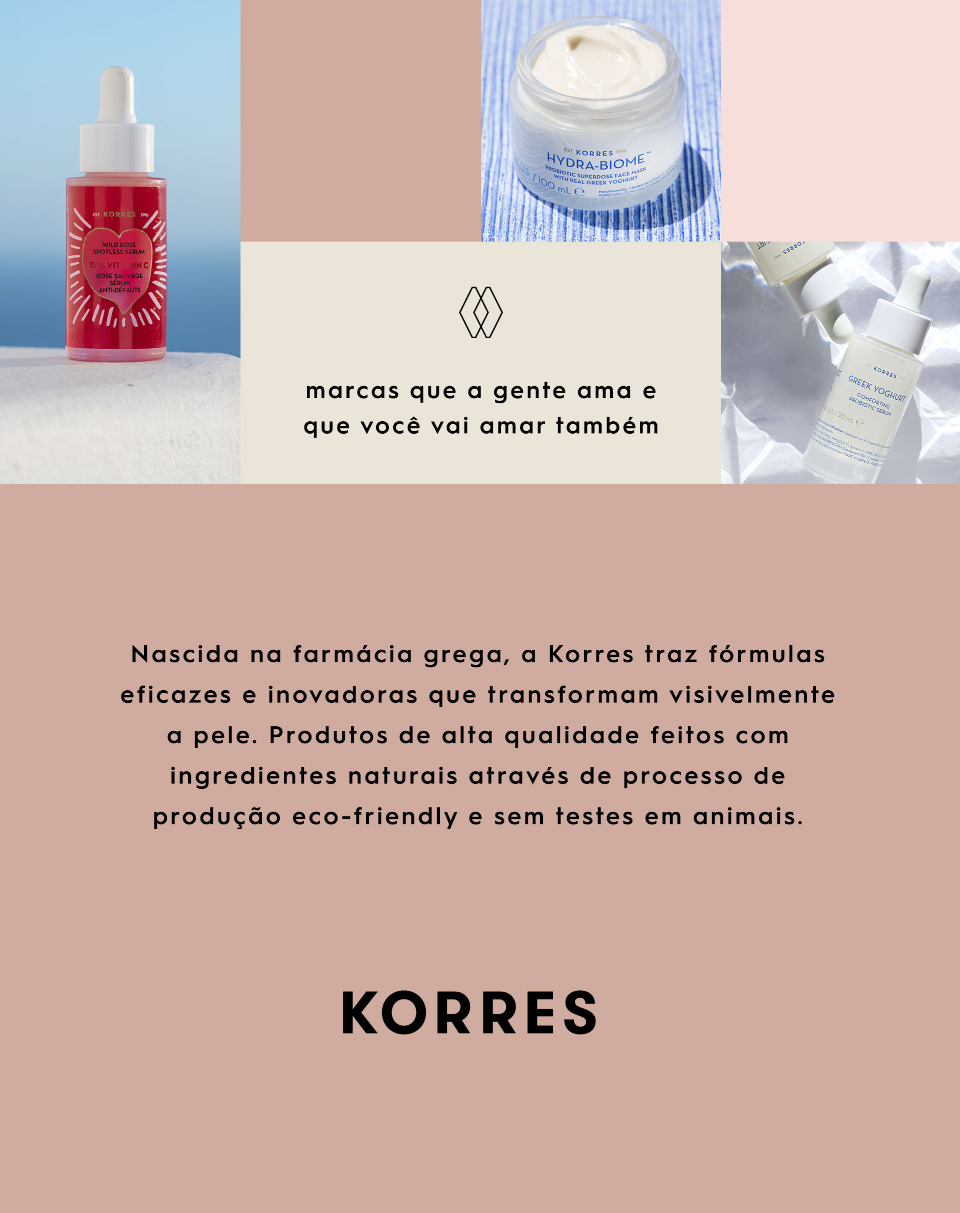 KORRES ÓLEO FACIAL DE CLAREAMENTO SERUM WILD ROSE - 30ML