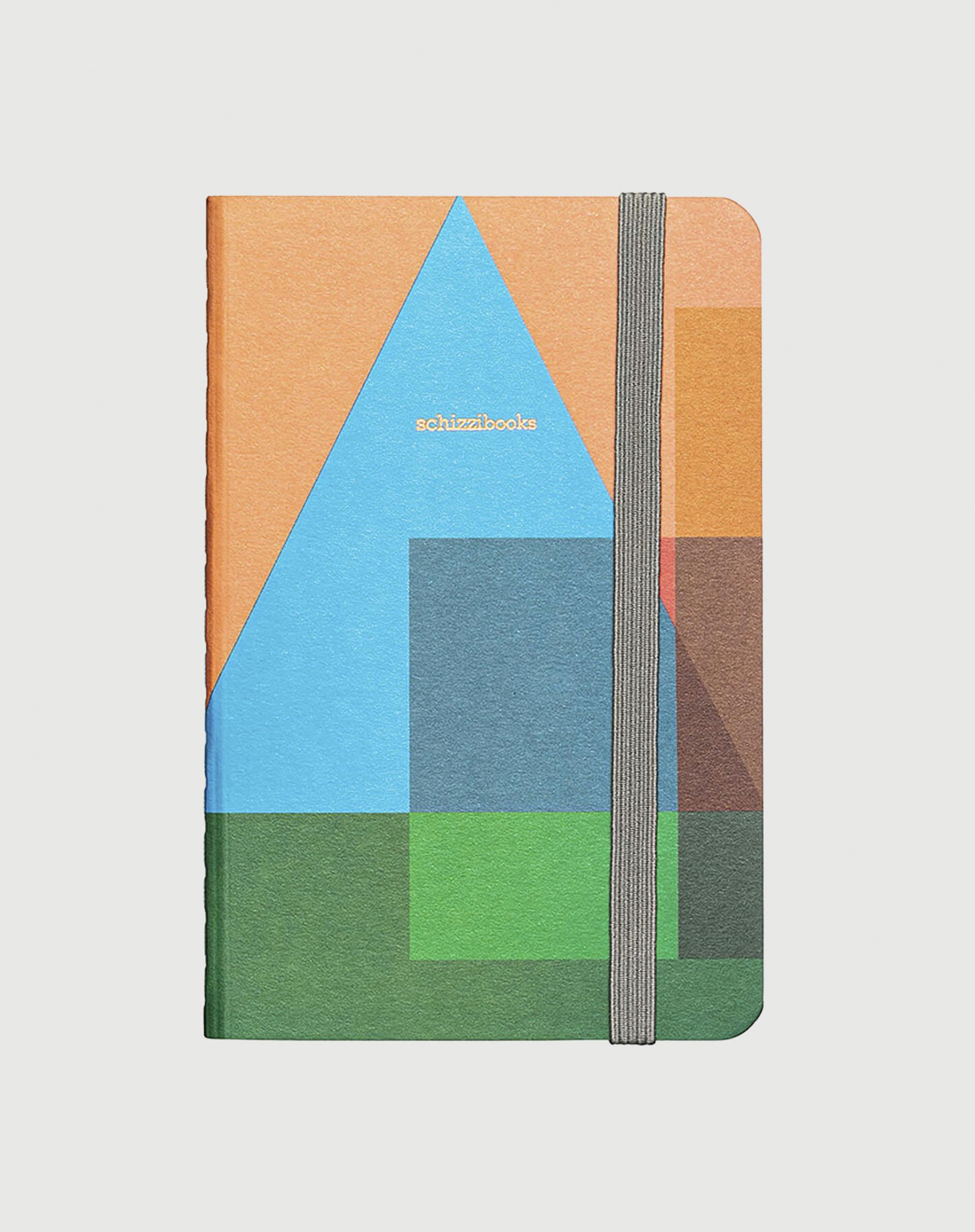 AMARO Feminino SCHIZZIBOOKS SKETCHBOOK POCKET, JANELA AZUL