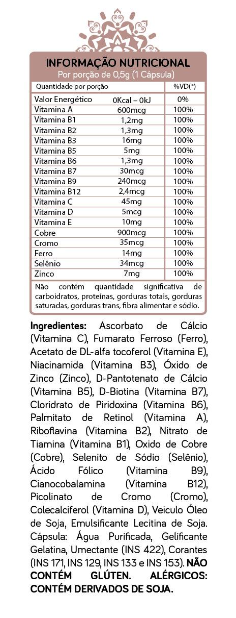 WELLIFE SUPLEMENTO ALIMENTAR - 30 CAPS