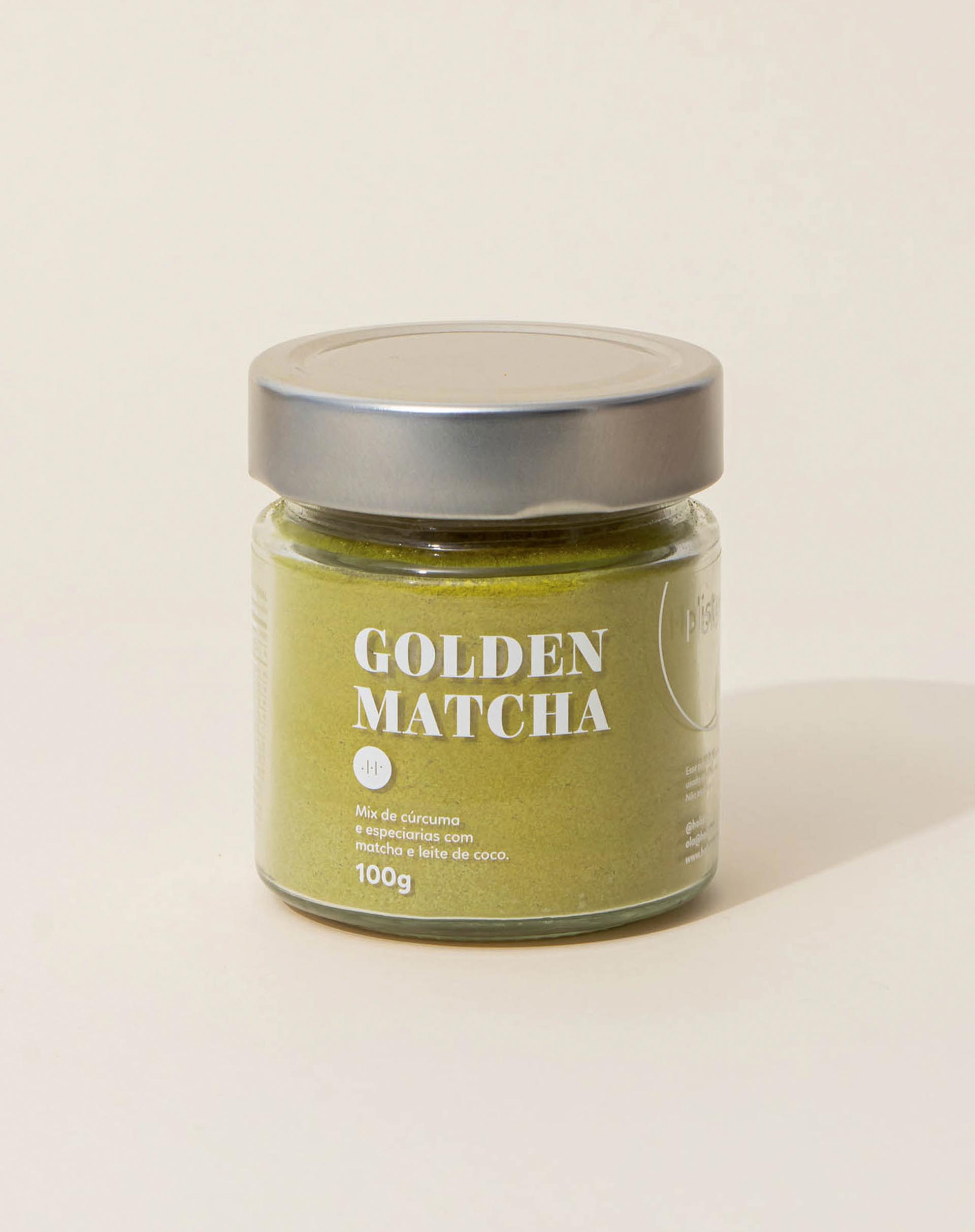 AMARO Feminino HOLISTIX GOLDEN MATCHA - 100G, MATCHA